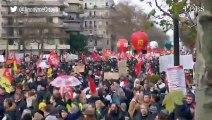 Grève du 10 décembre contre la réforme des retraites : les slogans du cortège parisien