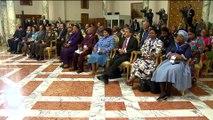 المؤتمر الصحفي المشترك بين الرئيس السيسي ونظيره جنوب أفريقيا