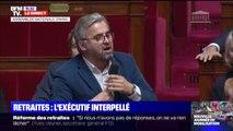 """Alexis Corbière accuse Jean-Paul Delevoye de """"conflit d'intérêts"""" après avoir """"oublié"""" de déclarer ses liens avec le monde de l'assurance"""