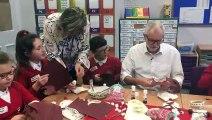 Jeremy Corbyn at Sandylands Primary School