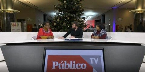 Miguel Urbán entrevista a las defensoras de derechos humanos Mirian Miranda y Jessica Trinidad Elvira