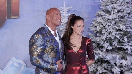 Dwayne Johnson and Wife Lauren Hashian Attend the Jumanji 2 Premiere