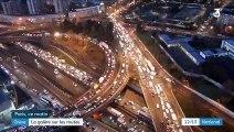 Grève contre la réforme des retraites : à Paris, le trafic routier toujours perturbé