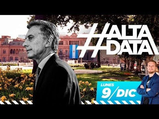 Se fue Macri, se van las rejas de Plaza de Mayo | #AltaData, todo lo que pasa en un toqueta