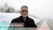 Américo de Grazia, recientemente exiliado en Italia tras permanecer más de 6 meses en la residencia del embajador de Italia en Caracas