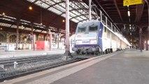 Gare de Strasbourg :  ils continuent à prendre le train malgré la grève