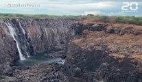 Zimbabwe: Les chutes Victoria réduites à un courant d'eau à cause de la sécheresse