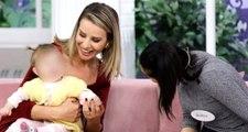 3 haftadır göremediği 11 aylık bebeğine Esra Erol sayesinde kavuştu