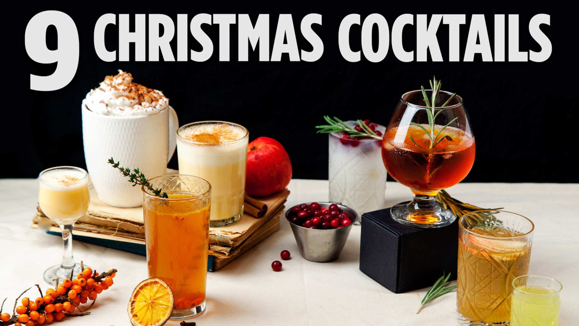 9 Holiday Drinks Compilation