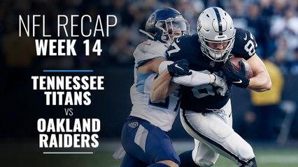 Week 14: Titans v Raiders