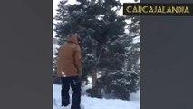 Recopilación de Las Mejores Caidas de Invierno|Videos Virales|Videos Graciosos