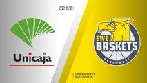 Unicaja Malaga - EWE Baskets Oldenburg Highlights | 7DAYS EuroCup, RS Round 9
