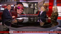 """Afternoon Live (BBC News): Interview with Tiina Jauhiainen and Jane McMullen on """"Escape from Dubai: The Mystery of the Missing Princess"""""""