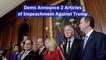 The Articles Of Impeachment Against Trump