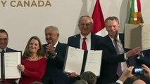 EEUU, México y Canadá sellan el texto final del T-MEC