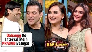 Bacha Yadav FUN COMEDY With Salman Khan, Sonakshi Sinha, Saiee On The Kapil Sharma Show Dabangg 3