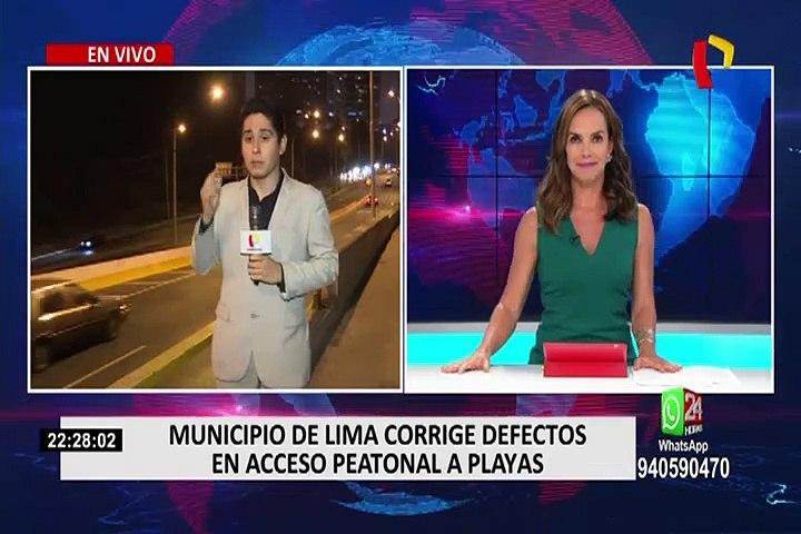 Costa Verde: Municipio de Lima corrige defectos en acceso peatonal a playas   Godialy.com