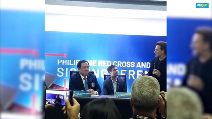 Bono of U2 talks about his passion for charity and why he brought his cause-oriented company Zipline to the Philippines