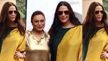 Rani Mukerji and Neha Dhupia record for No filter Neha Season 4