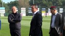Spor fenerbahçe'nin sivasspor hazırlıklarını başkan ali koç da takip etti