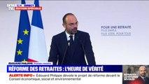 """Réforme des retraites: """"Le temps est venu de construire un système universel de retraites"""" déclare Édouard Philippe"""
