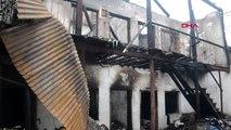 Kahramanmaraş evi yanan kadın gözyaşları içinde yardım istedi