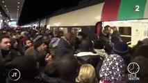 Grève contre la réforme des retraites : la gare du Nord à Paris toujours saturée