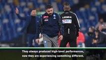 Gattuso wary winning feeling is slipping away from Napoli