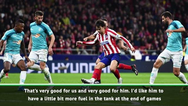 Joao Felix bringing a sense of danger to Atletico - Simeone