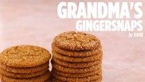 Grandmas Gingersnaps