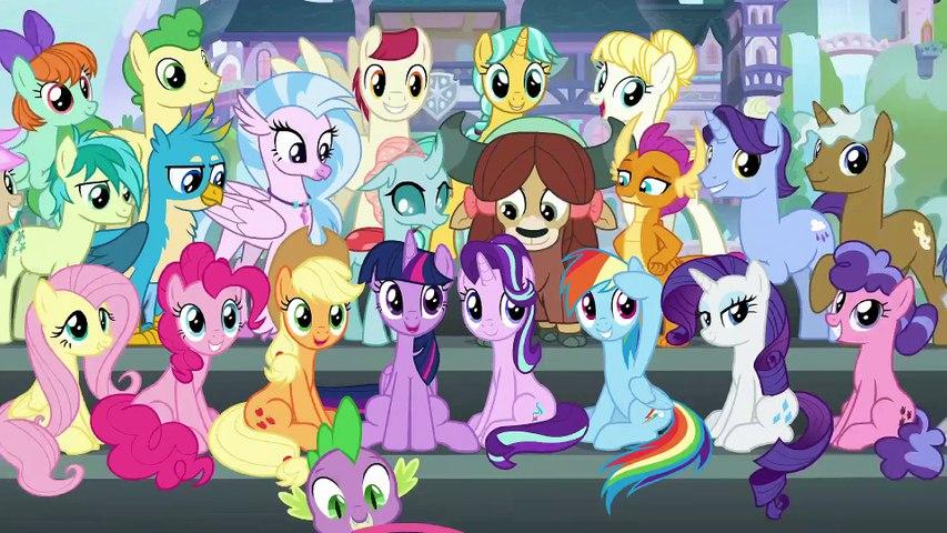 My Little Pony L'amicizia è magica [Stagione 9] [Episodio 16] Il Trivia Trot [1080p] [COMPLETO]
