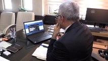 """Ağrı Emniyet Müdürü Özen, AA'nın """"Yılın Fotoğrafları"""" oylamasına katıldı"""