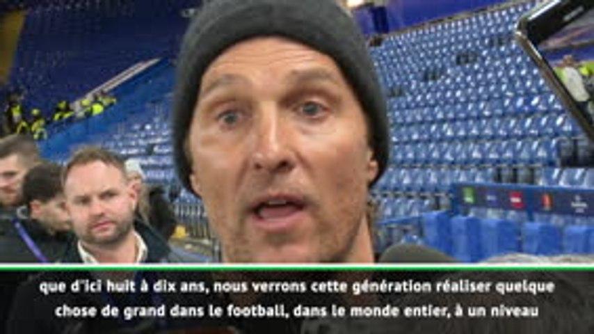 Buzz - McConaughey est venu soutenir Chelsea contre Lille