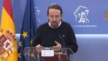 """Iglesias transmite al Rey su """"optimismo"""" por la marcha de las negociaciones"""