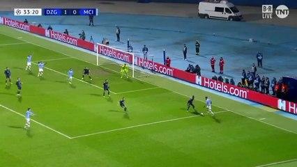 UCL : Passe décisive de Mahrez face à Dynamo Zagreb