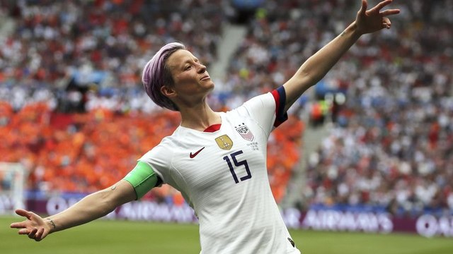 Sports Illustrated' names Megan Rapinoe its sportsperson of the year