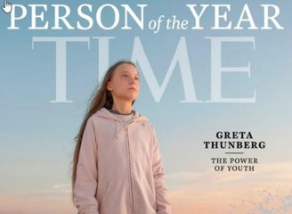 Greta Thunberg has been named 'TIME' Person of the Year