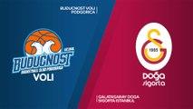 Buducnost VOLI Podgorica - Galatasaray Doga Sigorta Istanbul Highlights | 7DAYS EuroCup, RS Round 9