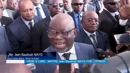 Révocation de Baudouin Mayo : l'UNC dément