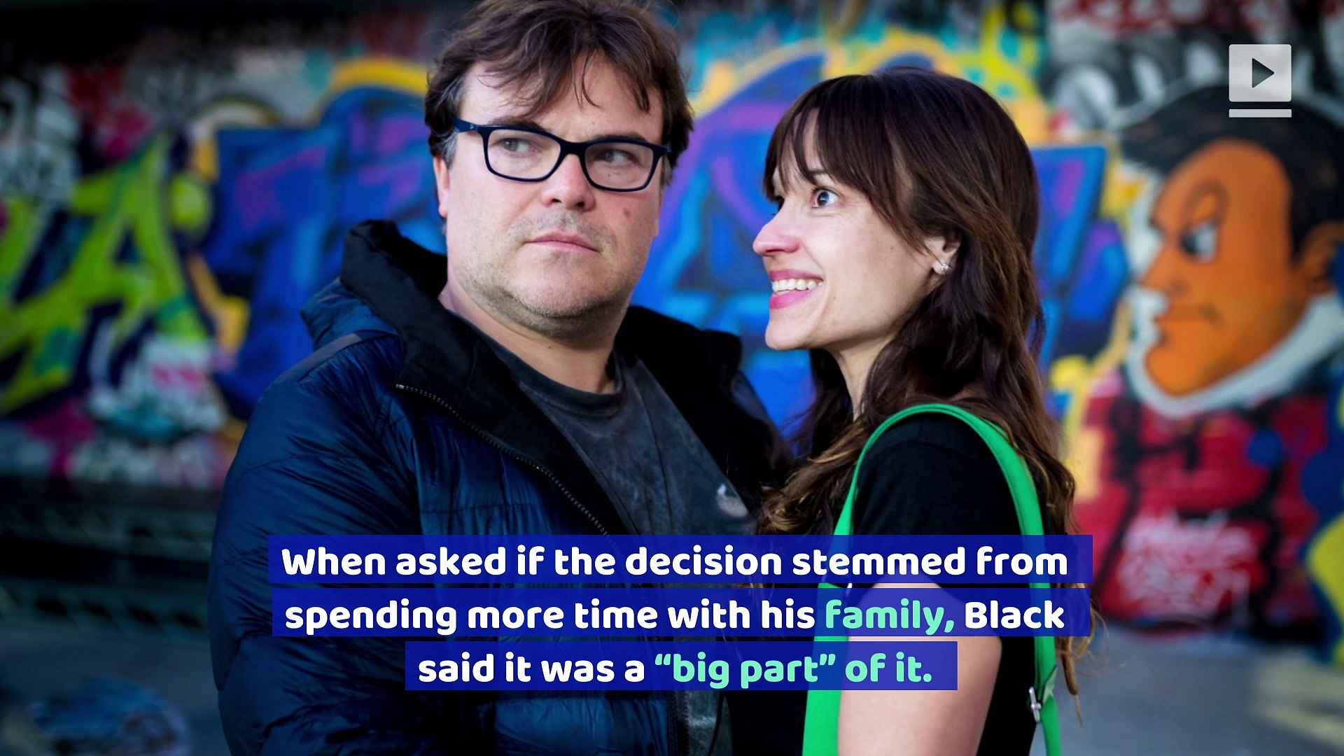 Jack Black Wants to Retire and 'Ride off Into the Sunset'