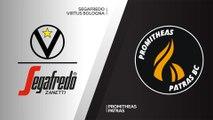 Segafredo Virtus Bologna - Promitheas Patras Highlights | 7DAYS EuroCup, RS Round 9