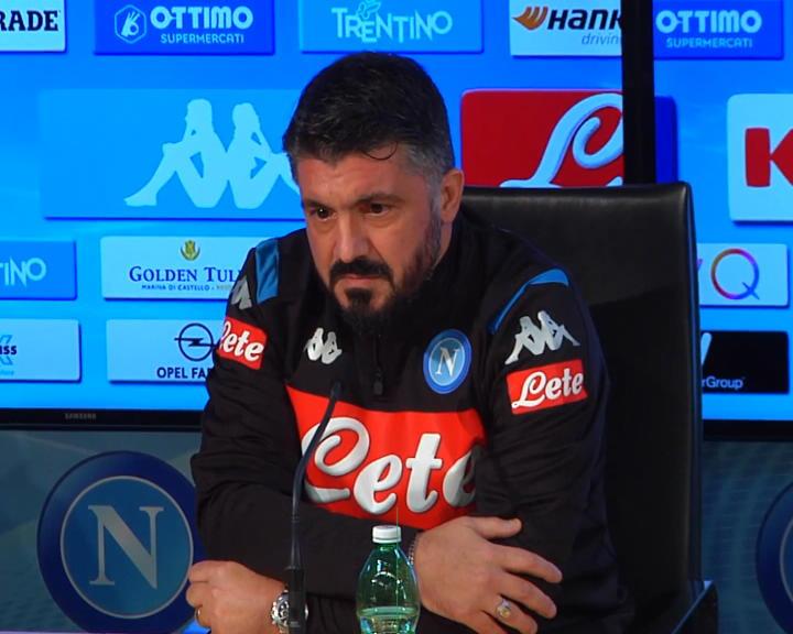 """Naples - Gattuso : """"Naples, un club majeur en Italie et en Europe"""""""