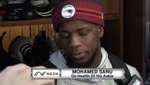 Mohamed Sanu On Role In Patriots Offense
