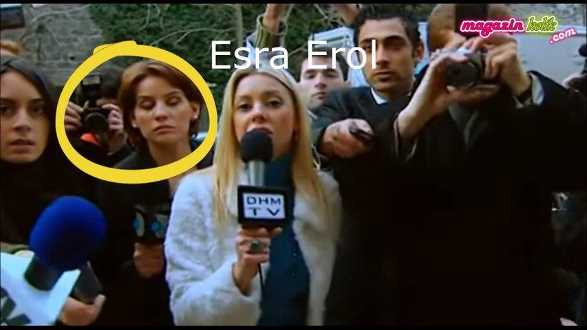 Esra Erol...BAKIN HANGİ DİZİDE FİGÜRANLIK YAPMIŞ?