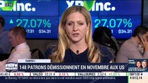 New York is amazing: 148 patrons démissionnent en novembre aux États-Unis ! par Sabrina Quagliozzi - 11/12