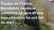 Equipe de France: Mandanda explique comment sa cure et une non-sélection lui ont fait du bien