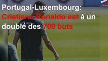 Portugal-Luxembourg: Cristiano Ronaldo est à un doublé des 700 buts