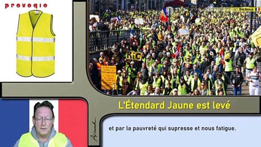 Arnaud - L'Étendard Jaune est levé (2019) soustitré