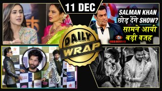 Salman To Quit Bigg Boss, Sara 'Sasti' Rekha Comment, Shahid LEAVES Award Show | Top 10 News