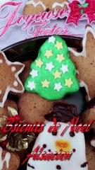 Recette des Biscuits de Noël